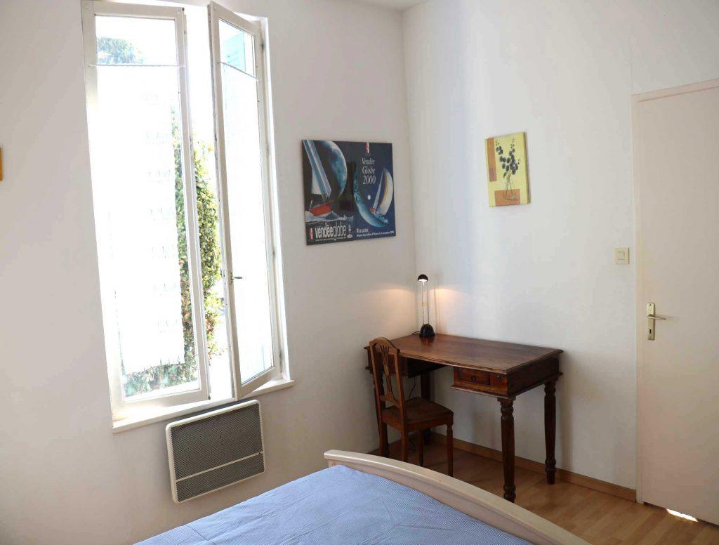 Chambre Péruse Volets Bleus Sables d'Olonne maison