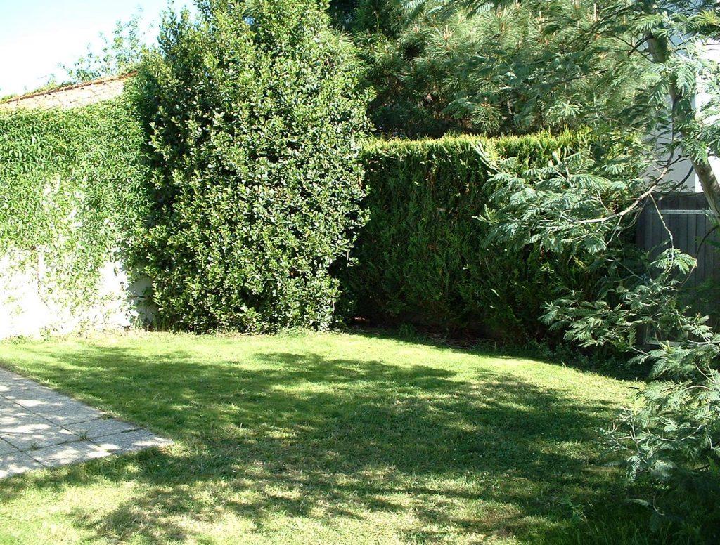 Jardin Volets Bleus Sables d'Olonne maison de vacances