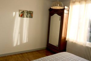 Maison Roses Trémières Sables d'Olonne chambre Armandèche
